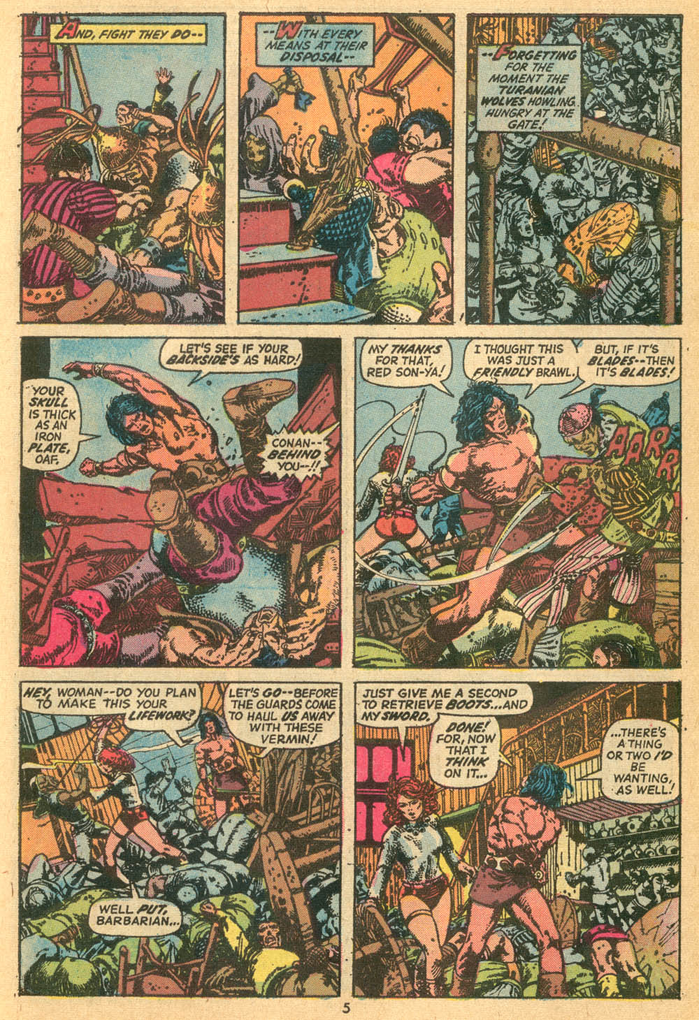 Conan the Barbarian (1970) Issue #24 #36 - English 5