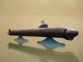 maqueta marca zvezda del submarino sovietico k-3