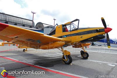 Aeronave Zlin de usos agrícolas.