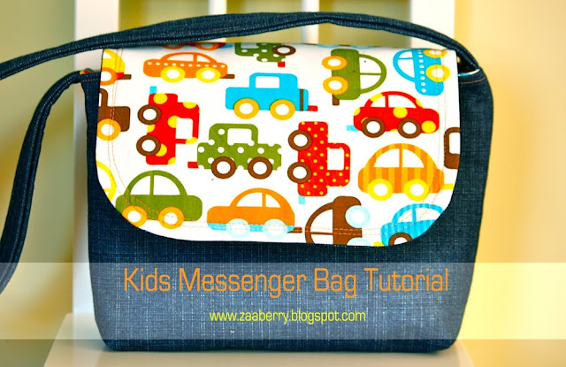 messenger bag tutorial