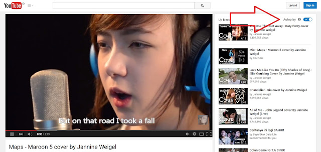Cara Membuat Mematikan Auto Play Youtube