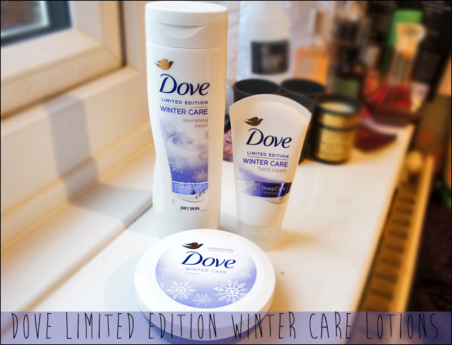Dove Limited Edition Winter Care Nourishing Lotion, Hand Cream and Body Butter