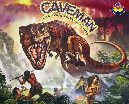 Caveman And Dinosaurs : The superfly circus caveman prehistoric swingers engaging in