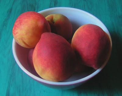 peaches3 Peach Sorbet