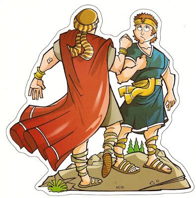 Davi e Abisai