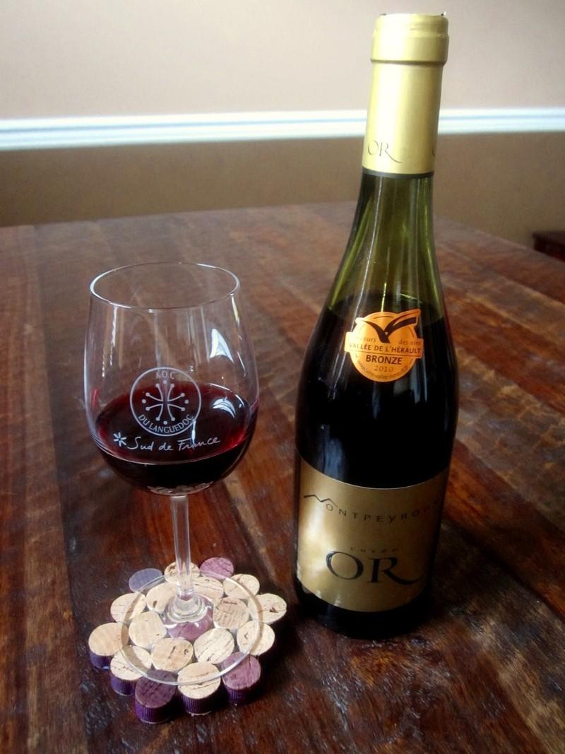 Wine cork diy wine cork coaster for Cork coasters for crafts