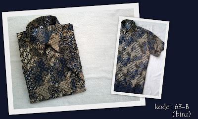 Baju Batik Pria 63B