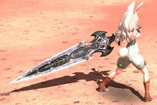 バルロナの大剣