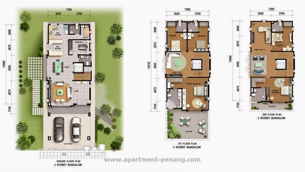 Starhill Bungalow Apartment Penang Com