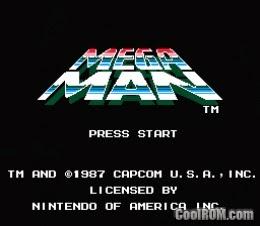 Mega Man For PC ( Nintendo )