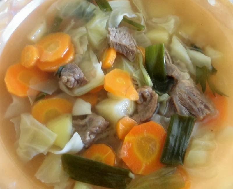 Resep Sayur Sop Bakso Ncc