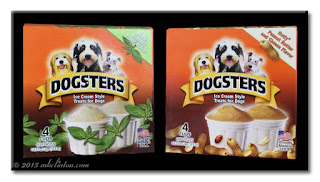 Two Boxes of Dogsters Ice Cream Style Treats for Dogs