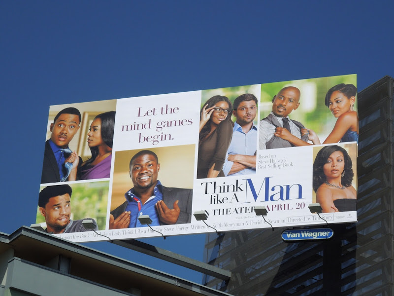 Think like a Man billboard
