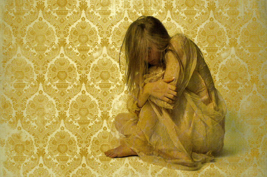 """yellow wallpaper and postpartum depression For example, postpartum depression can be compared to the character in the yellow wallpaper, the woman said: """"i've got out at last,"""" said i, """"in spite of you and jane and i've pulled off."""