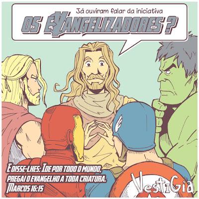 Os Evangelizadores [Vestigia HQ - www.vestigiahq.com.br]