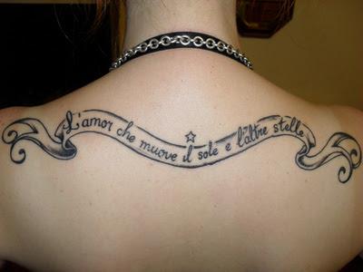 Dicas e fotos de Tatuagens Femininas com Frases