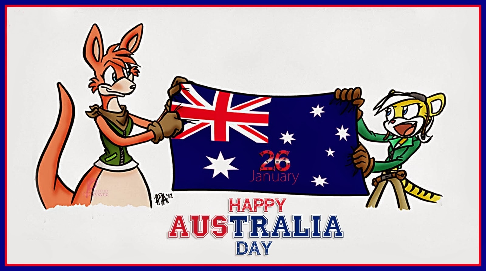 Happy australia day hd wallpapers for wishes 26 january with happy australia day hd wallpapers for wishes 26 january with greeting card quotes m4hsunfo