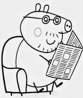 desenhos peppa pig para imprimir