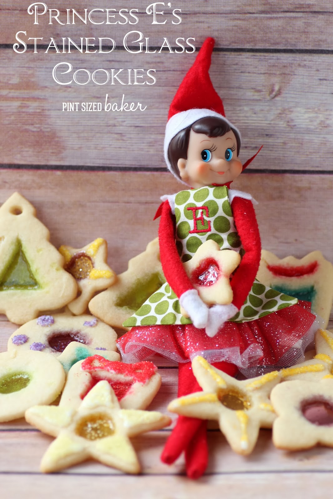 Princess E S Stain Glass Cookies