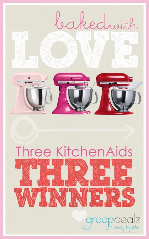 KitchenAid Giveaway from GroopDealz with 3 winners!