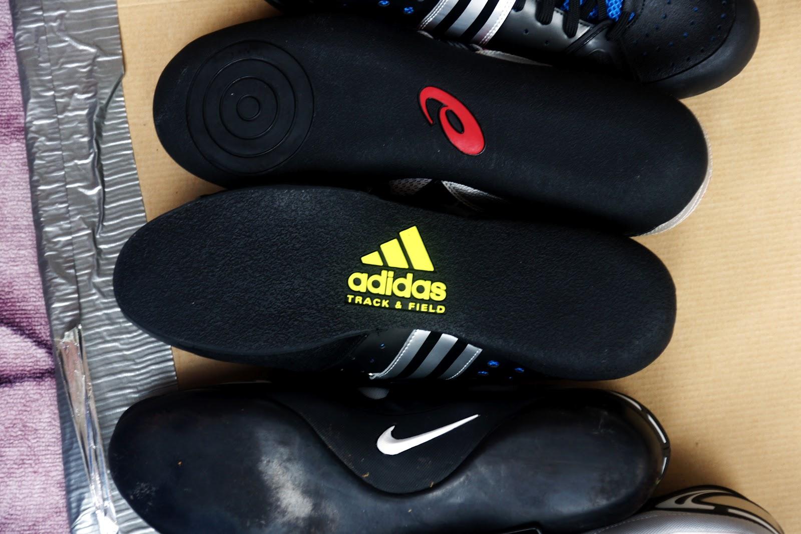 Kuulantyöntö kengät