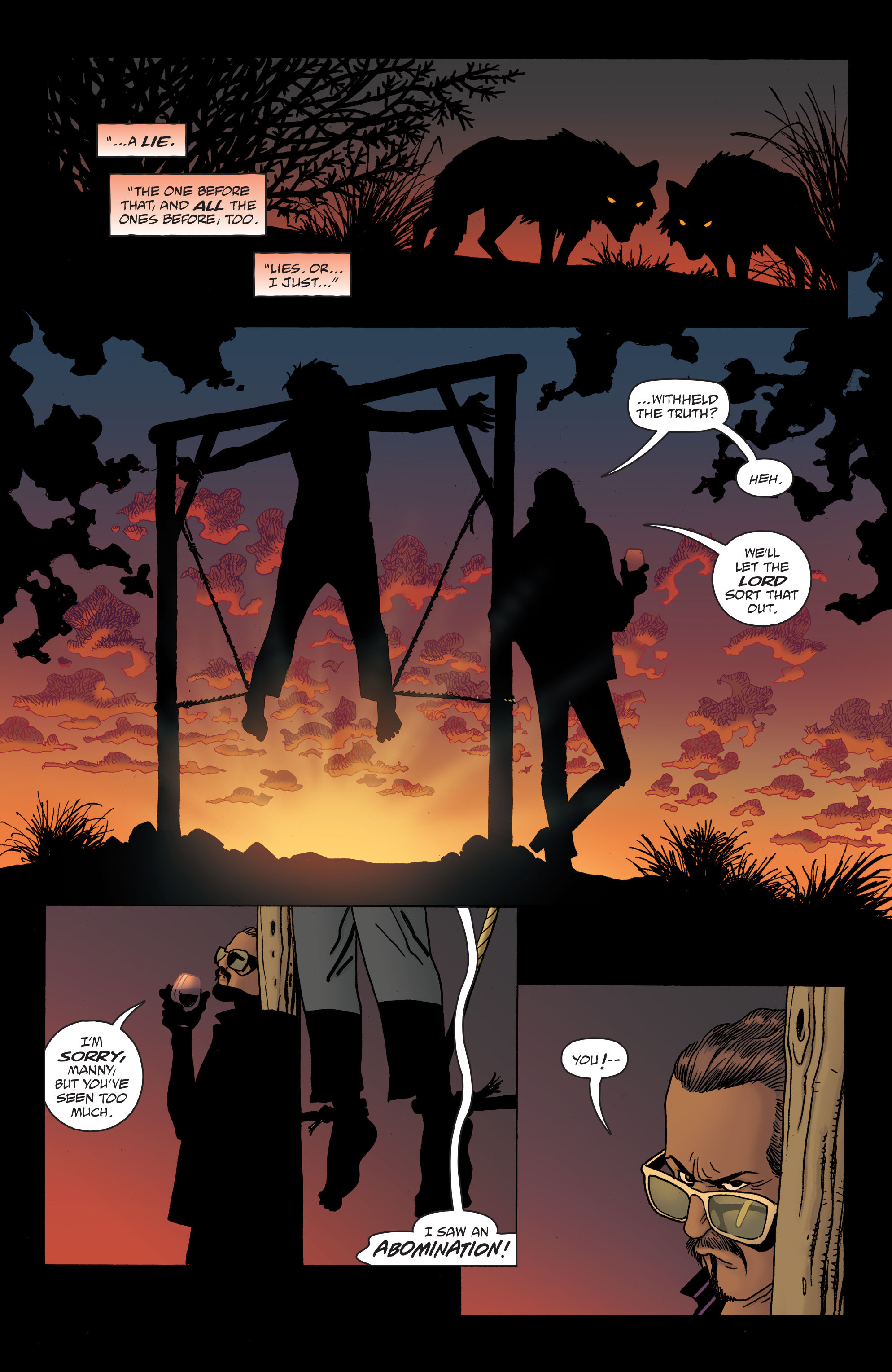 100 Bullets: Brother Lono Full Page 163