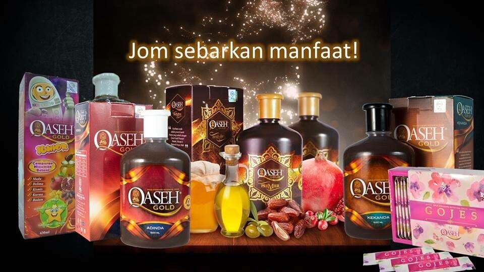 Jom Sihat Bersama Qaseh Gold