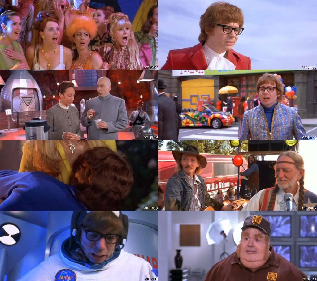Austin Powers: The Spy Who Shagged Me (1999) Screenshots