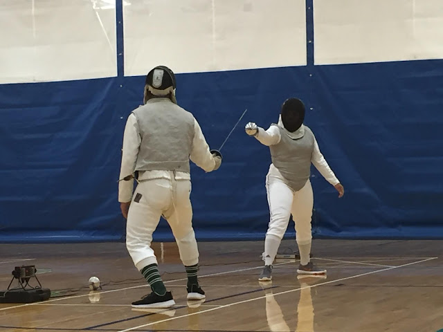 Something About Me Saturday:  Wish Me Luck! I'm Going To Another Fencing Tournament Tomorrow --How Did I Get Here? My Amazing Genealogy Journey