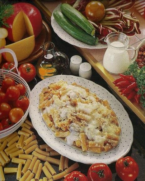Maccheroncini in salsa di funghi | Macaroni with mushroom sauce