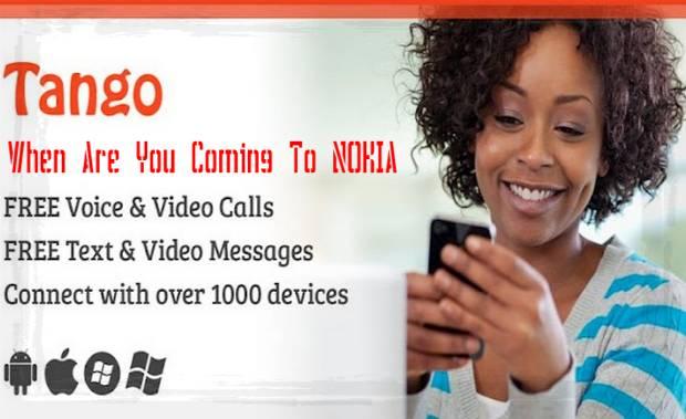 Tango App for Nokia Symbian Mobiles