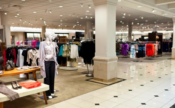JCP Image of Store Without Customers Shopping