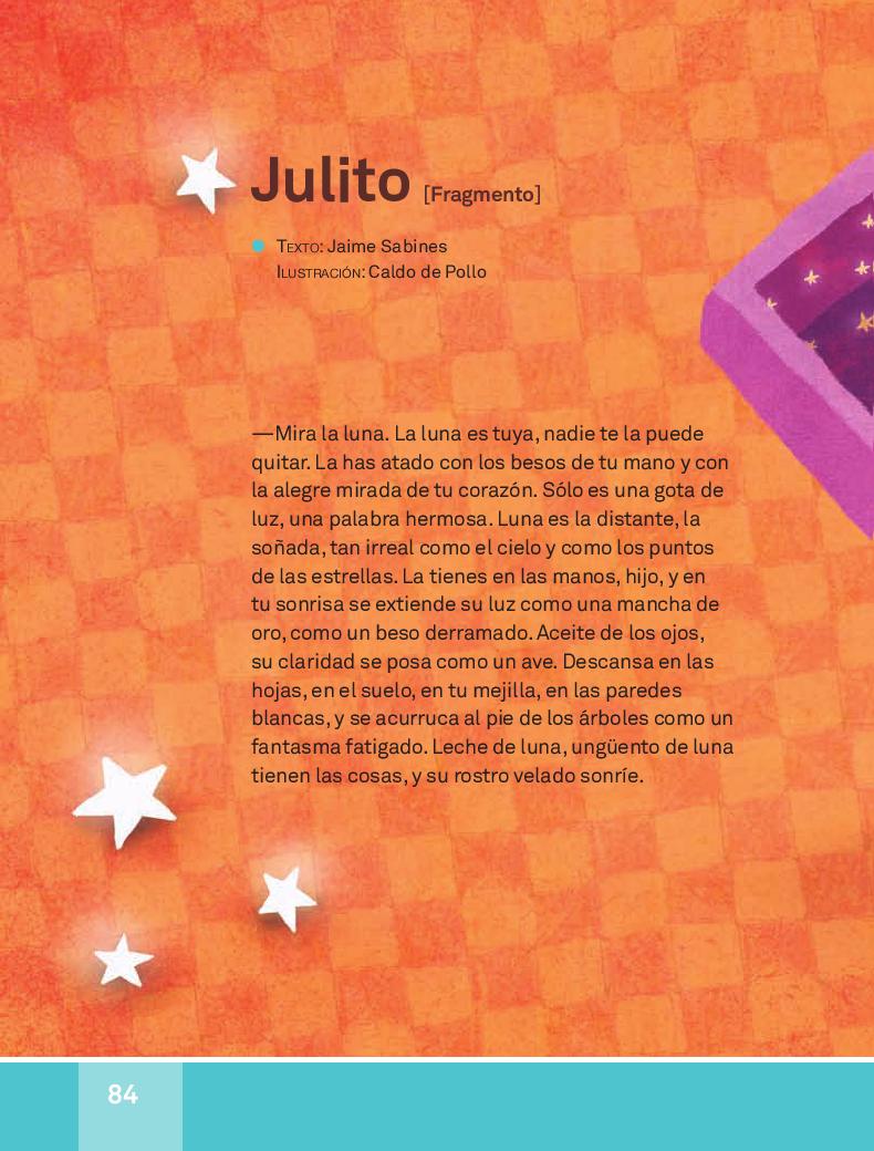 Julito - Español Lecturas 3ro 2014-2015