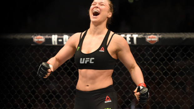 Ronda Rousey MMA Book