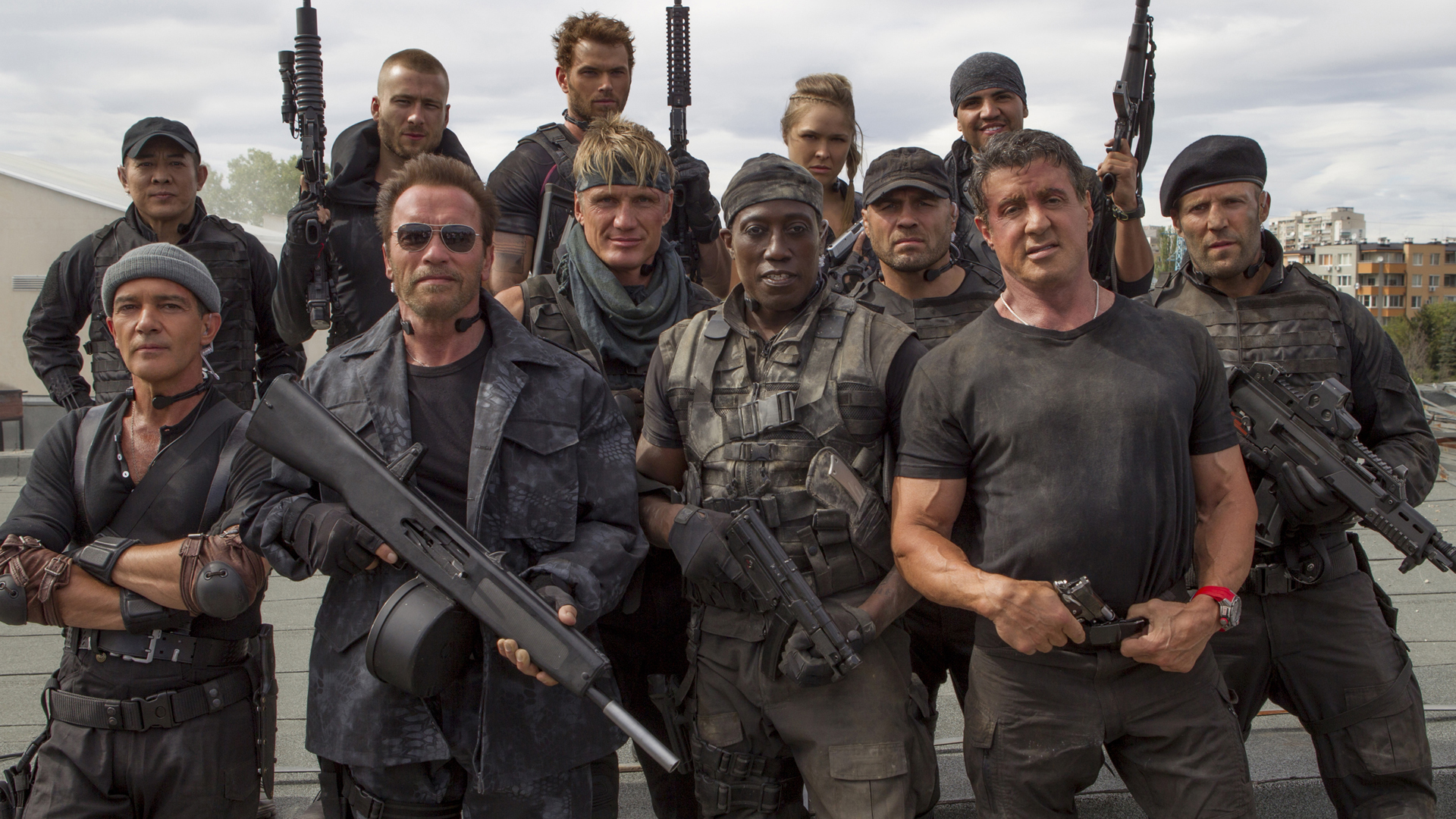The Expendables...