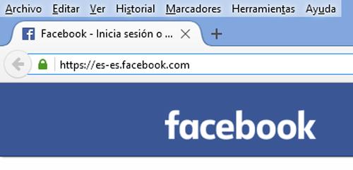 facebook en español iniciar sesion