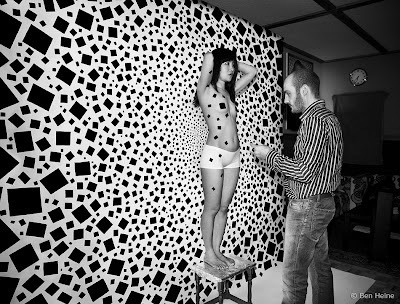 Ben Heine working on Less is More Making of - Step 7 - Artwork by Ben Heine - 2013