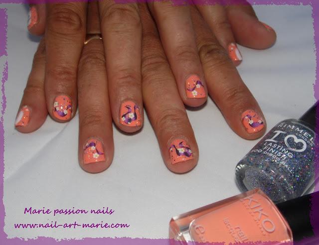 Nail Art sur les autres6