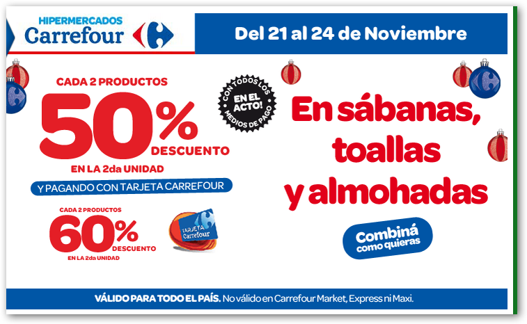 Ofertas y promos en argentina ofertas carrefour fin de semana for Piletas redondas inflables carrefour
