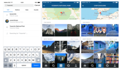 Now you can explore trends and search location on Instagram : eAskme