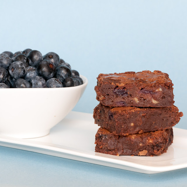 brownies,blueberries, white chocolate, best, winning, gluten free