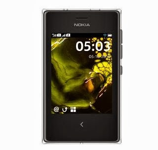New Launch: Nokia Asha 503 Dual SIM Mobile Phone – Black worth Rs.6549 for Rs.5567 (Flat 15% Off) at HomeShop18