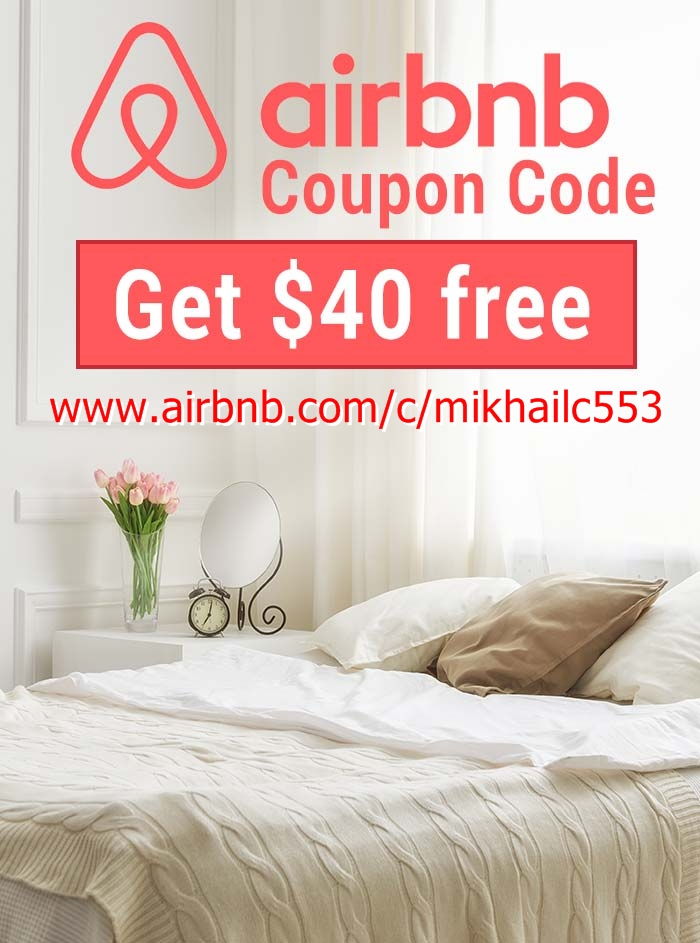 FREE $40 AIRBNB! USE CODE BELOW :