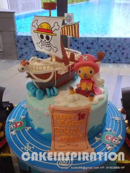 The Sensational Cakes One Piece Chopper Birthday Dessert Table