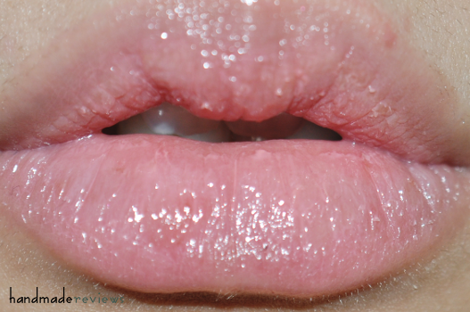Pink Lipgloss swatches