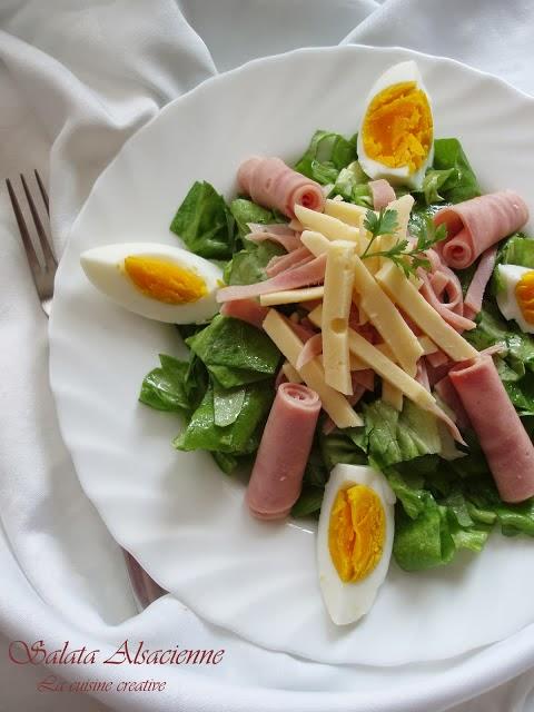 """Salata """"Alsacienne"""""""