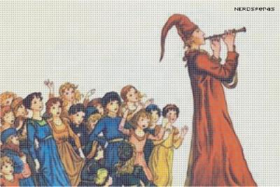 Contos: O flautista de Hamelin, dos Irmãos Grimm