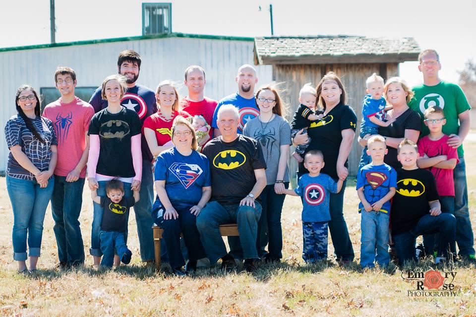 Allred Family 2008