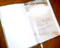 NIV Bible as a wedding gift - Photo by Patricia Stimac, A Heavenly Ceremony