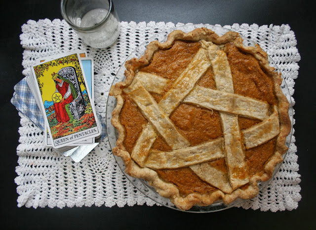 Pentagram Sweet Potato Pie
